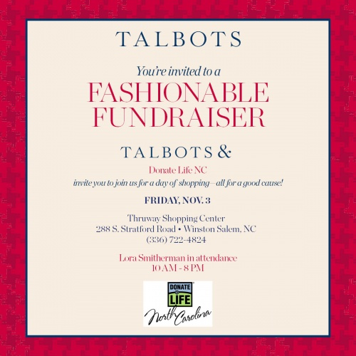 Home Organization Winston Salem: Fashionable Fundraiser, Talbots Winston-Salem
